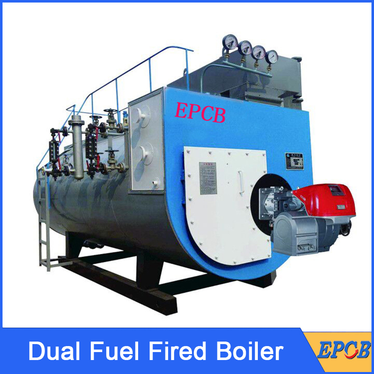 Dual-Fuel-Fired-Boiler