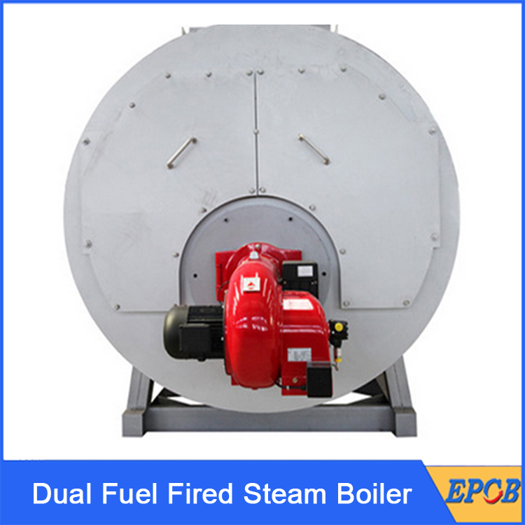 Dual-Fuel-Fired-Steam-Boiler