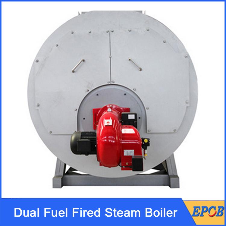 Dual-Fuel-Fired-Steam-Boiler