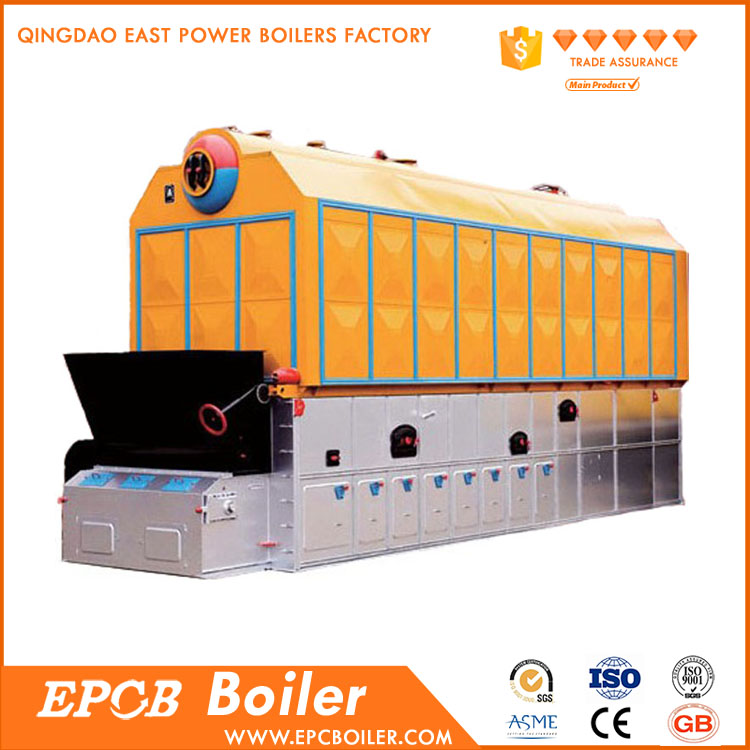 EPCB High Quality Horizontal Industrial Biomass Fired Thermal Oil Boiler