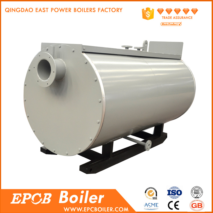 High Efficiency Full Automatic Oil Gas Duel Fuel Steam Boiler