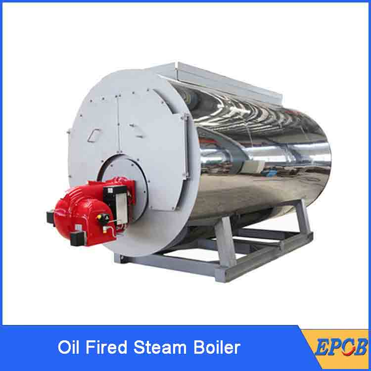 High Quality WNS Industrial Oil Fired Steam Boiler