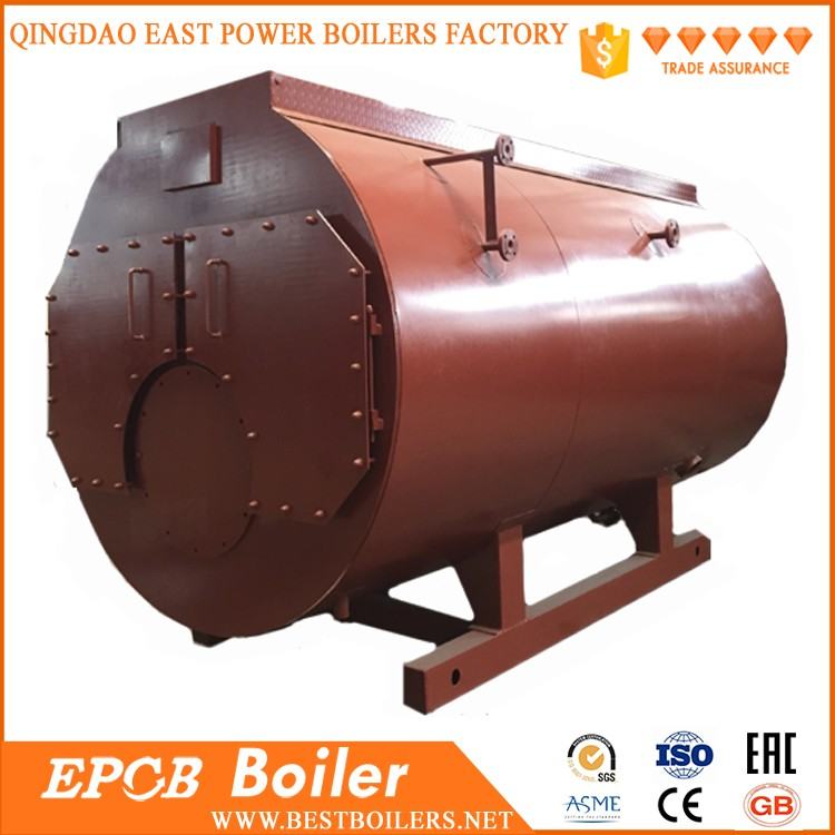 EPCB ISO Certificated High Quality Horizontal Fire Tube Diesel Boiler