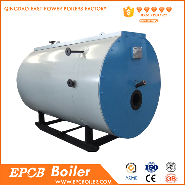 China Factory Price High Efficiency Horizontal Oil Fired Steam Oil Boiler for Sale