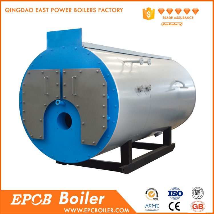 EPCB High Quality Nature Gas And Diesel Oil Dual Fuel Boiler