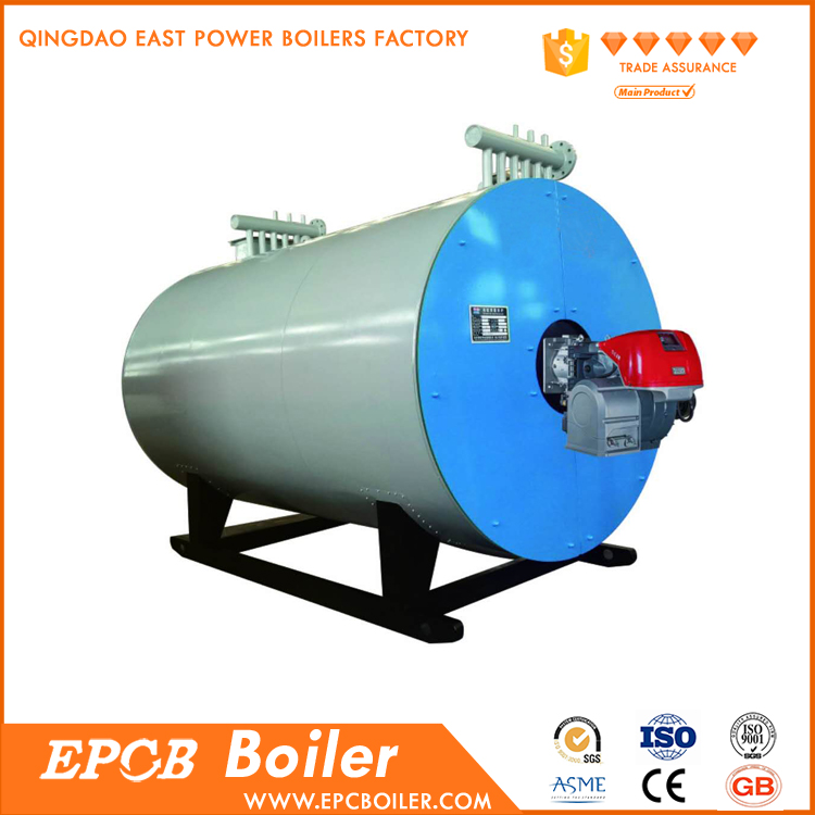Natural Gas and Diesel Dual Fuel Fired Thermal Oil Boiler