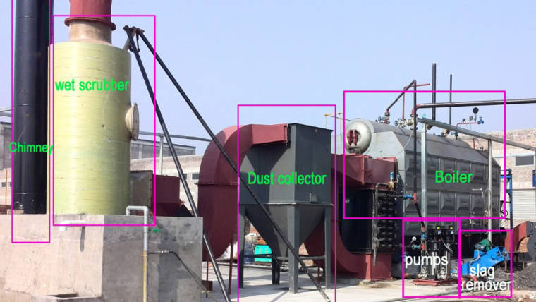 Environmental Protection Equipment for Solid Fuel Boiler- Dust Collector
