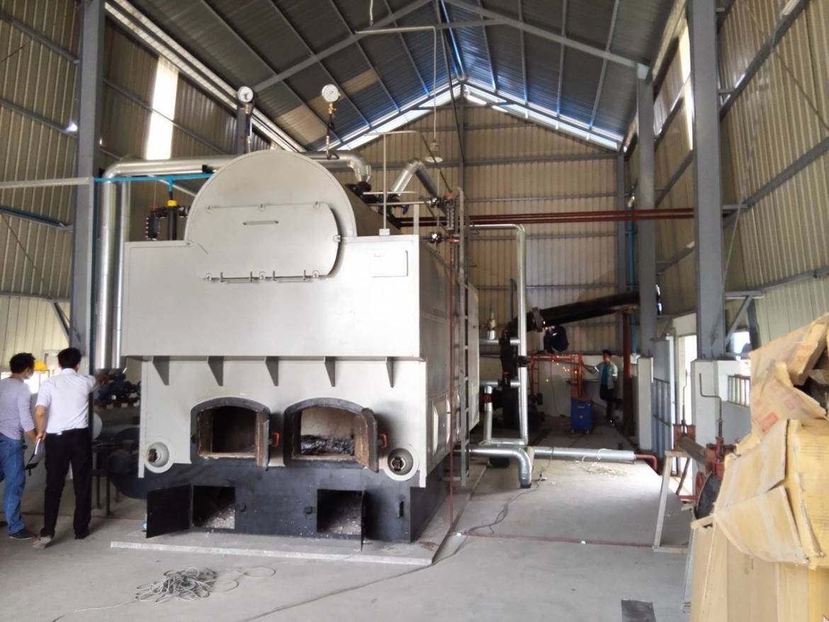Installation and Commissioning of EPCB Biomass-fired Steam Boiler in Myanmar
