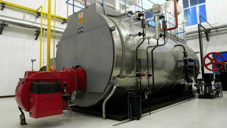 EPCB 5T/h Steam Boiler to Vietnam
